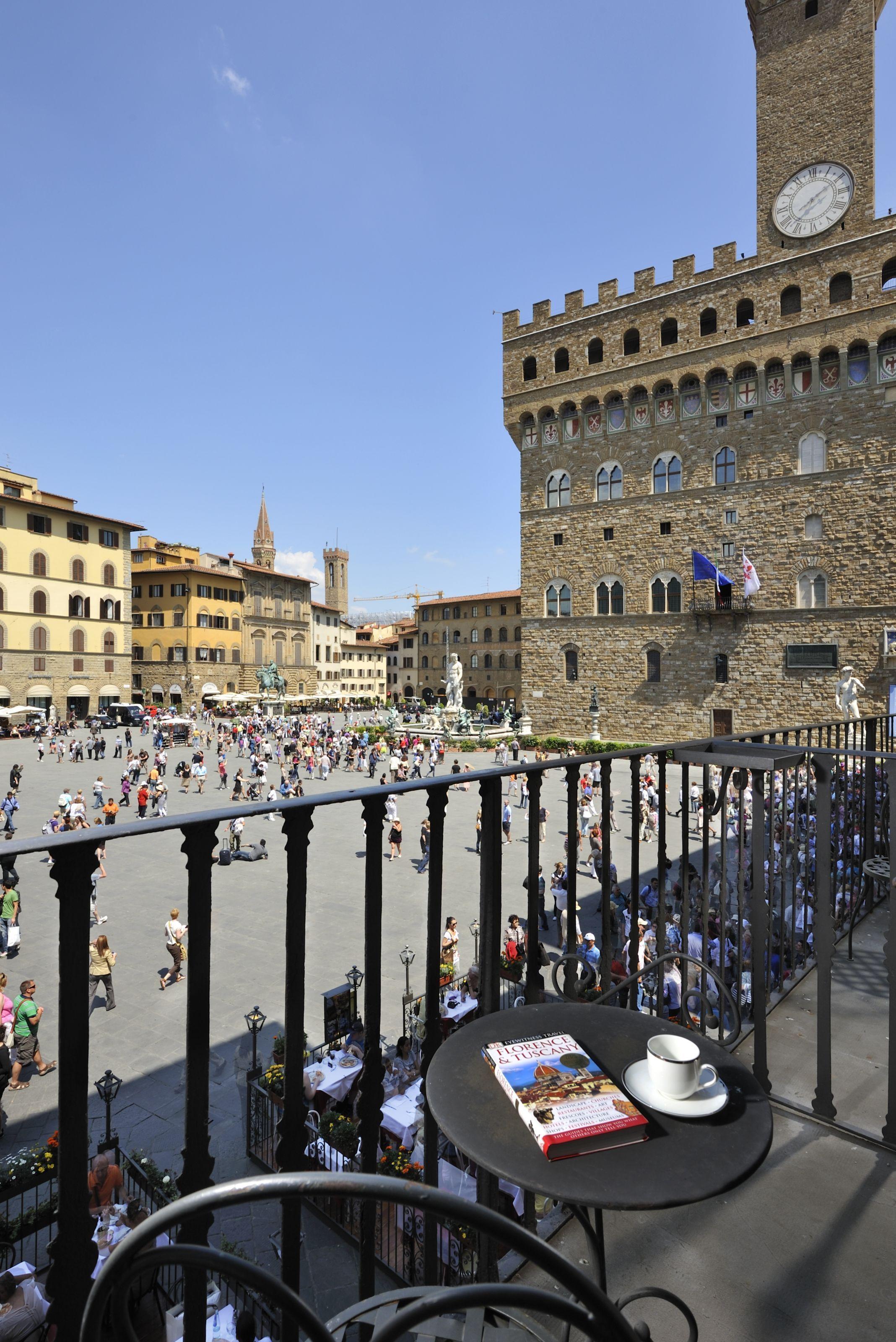 Vista Su Piazza Della Signoria :